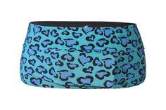 Blue Leopard Runner's Belt