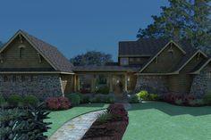 Craftsman Style House Plan - 3 Beds 2.5 Baths 2552 Sq/Ft Plan #120-167