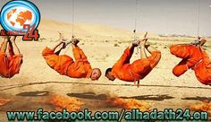isis burned 4 iraqi shia soldiers alive!
