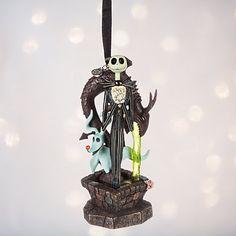 Decorazione natalizia con illuminazione di Jack Skeletron