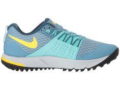 timeless design 4afdd 6cfe0 Nike Air Zoom Wildhorse 4 Women s Running Shoes Cerulean Laser Orange Aurora  Green Cerulean