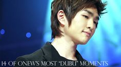 14 of Onew's most 'dubu' moments | http://www.allkpop.com/article/2015/08/14-of-onews-most-dubu-moments