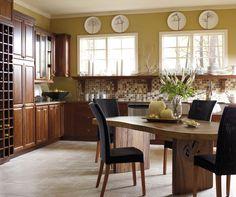 Galería de Diseño - Cocina Gabinetes De Color Y Acabado Fotos - Diamond
