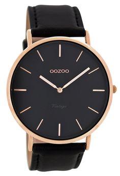 OOZOO C8139 Vintage Armbanduhr mit Lederband 44 mm Schwarz jetzt günstig im uhrcenter Uhren Shop bestellen. ✓Geprüfter Online-Shop.