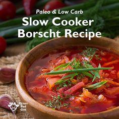 Healthy Slow Cooker Borscht Recipe                                                                                                                                                                                 More