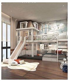 Cool Kids Bedrooms, Kids Bedroom Designs, Room Design Bedroom, Home Room Design, Dream Home Design, Awesome Bedrooms, Bed Designs, Tiny Bedrooms, Cool Rooms For Kids