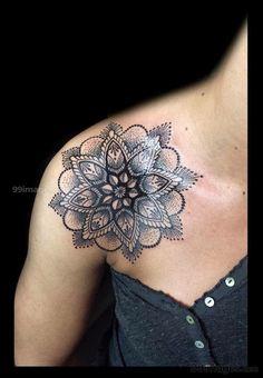 New tattoo mandala shoulder lotus tatoo ideas Trendy Tattoos, Tattoos For Women, Cool Tattoos, Tatoos, Mandala Tattoo Schulter, Schulter Tattoo, Cover Tattoo, Arm Tattoo, Sleeve Tattoos