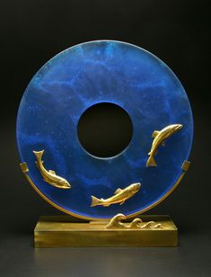Georgia Pozycinski and Joseph Pozycinski: Art Glass & Bronze Sculpture