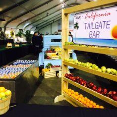 'California Grown Tailgate' or 'Farmers Market'