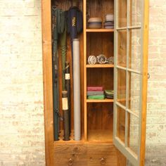 This Uniquely Designed Rustic Fly Rod Cabinet Is A Wonderful Accent Piece  For Any Room In The Home For Storage Of Fly Rods, Reels And Miscellaneous  Fishing ...