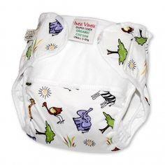 Diaper Cover, Organic Cotton SIZE: NEWBORN #foryourbugaboo