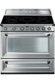 Piano De Cuisson Smeg Victoria 90cm Induction Inox Tr90ix9