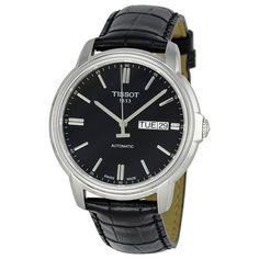 Tissot Automatic III Black Dial Mens Watch T0654301605100 (W-T065-430-16-051-00)