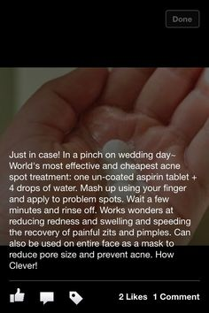 Get rid of pimples fast---- did this and love it!