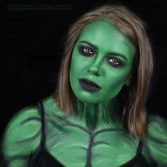 Thanks everyone who came by the Twitch stream last night! We had a lot a fun with this one! She Hulk Costume, She Hulk Cosplay, Cosplay Costumes, Hulk Face Painting, Body Painting, Twitch Channel, Last Night, Avengers, Halloween Face Makeup
