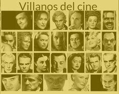 Villanos de cine