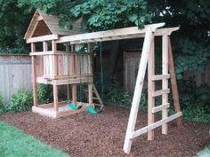 play structure by lucy - Backyard Garden Diy Kids