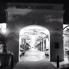 French Market, New Orleans LA - Loved shopping here with Mom in 2005.
