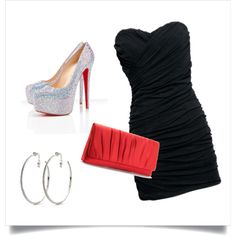 Perfect Vegas Outfit!...I would die for those Christian Louboutins!!!