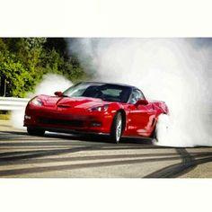 ZR1 smoking it up #corvette