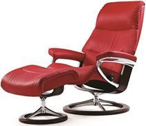 Shop for the Stressless by Ekornes Stressless View Medium Signature Chair at Rooms and Rest - Your Mankato, Austin, New Ulm, Minnesota Furniture & Mattress Store Modern Furniture Online, Contemporary Furniture, Leather Sofa, Love Seat, Relax, Chair, Design, Home Decor, Sustainable Style