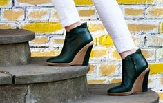 Monica Stålvang booties Ankle Boots, Wedges, Booty, Urban, Spring, Shoes, Fashion, Ankle Booties, Moda