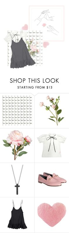 """Unbenannt #114"" by togetic ❤ liked on Polyvore featuring Cole & Son, OKA, Theo Fennell and Gucci"