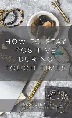 If you've been following some of the news lately or the election in the US, it can feel like we're living in some pretty stressful times right now. But it is possible to stay positive and continue on the journey of bettering your life even when things around you are a little chaotic. Here's how to stay positive during tough times.