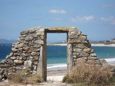 La playa de Lira o ya casi la de Louro, ya no me acuerdo... pero era en esa Costa Da Morte que me gusta tanto...