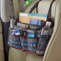 Our Southwest SwingAway is the perfect driving companion for water, sanitizer, masks, phones, sunglasses and so much more - and it swings to the back for passenger access! Free shipping available.