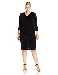 Tiana B Women's Plus-Size 3/4 Sleeve Drape Neck Glitter D... https://www.amazon.com/dp/B013G4J9PS/ref=cm_sw_r_pi_dp_x_XLy9xbDCXZ93N