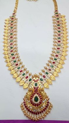 Gold Jewellery Design, Gold Jewelry, Necklace Set, Gold Necklace, Gold Haram, Gold Choker, India Jewelry, Latest Jewellery, Jewelry Collection