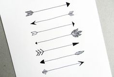 """Hand-Drawn Arrows Tutorial"" (February 2015) from thepostmansknock.com - 20+ arrow styles in a variety of media."