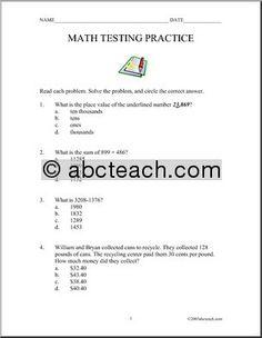 Spelling Test Worksheet - Free Printable Educational Worksheet ...