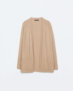 Image 6 of WRAP CARDIGAN WITH SIDE POCKET from Zara