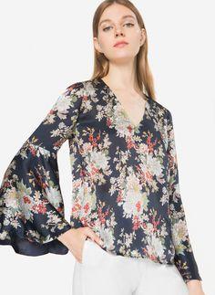 Camisa estampado oriental - Ver todo - Última semana - Uterqüe España