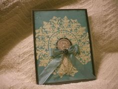 Medallion card by Laura Fernsler on Song of my Heart Stampers