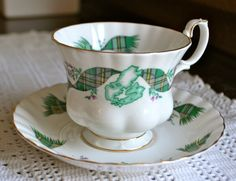 CAPE BRETON ISLAND Vintage Royal Albert by TheSmashingTeacup