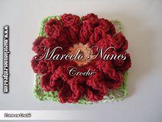 Flores em Crochê - Marcelo Nunes