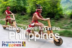 BIKING. More FUN in the Philippines!