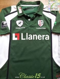 Relive London Irish's 2007/2008 season with this vintage Canterbury home rugby shirt.