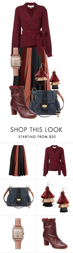 """Monday's look 11/27/17"" by feralkind ❤ liked on Polyvore featuring Gabriela Hearst, Carolina Herrera, Chloé, Panacea, Shinola, Nanette Lepore and WorkWear"