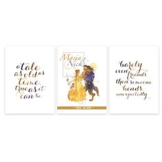 Beauty and the Beast Wedding Custom Name and Date by artRuss