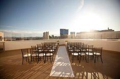 rooftop wedding vegas