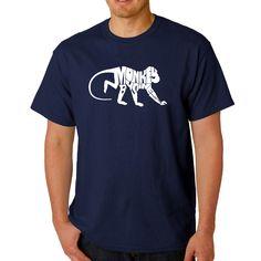 Men's Los Angeles Pop Art Monkey Business T-Shirt