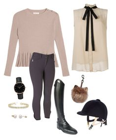 """""""Rose riding Outfit"""" by lijifhorse on Polyvore featuring Mode, Parlanti, Topshop und Allurez"""