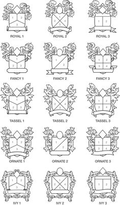 Family Crest Factory Online Design Form