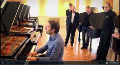 Watch a thrilling and exclusive #SteinwayPiano selection process with #SteinwayArtist Leif Ove Andsnes! http://eu.steinway.com/en/institutions/selections/