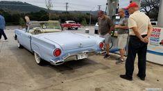 1957 Ford Thunderbird Concept Board, Ford Thunderbird