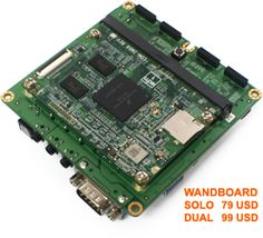 All-in-one tiny computer w/ linux : Wandboard Freescale i.MX6